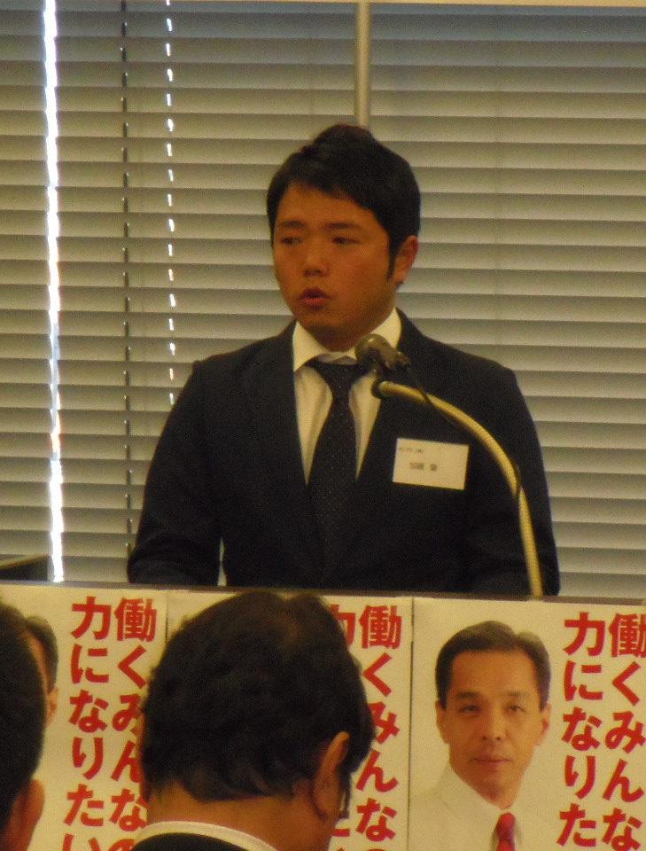 加藤使側代表幹事ご挨拶